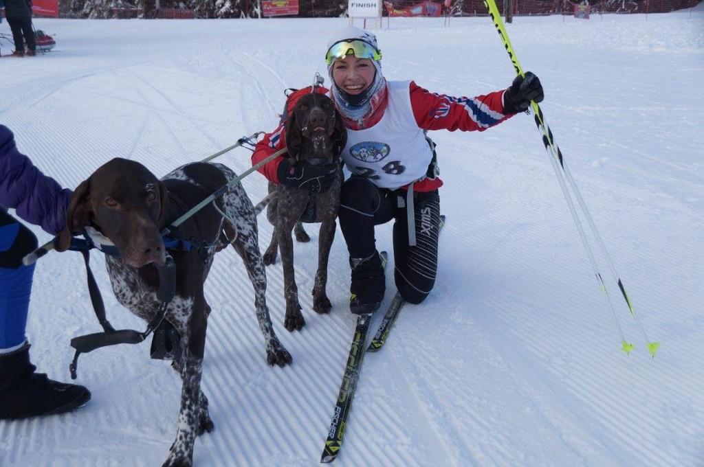Carina Nilsen fra Bærum HK vant 2-spanns klassen.