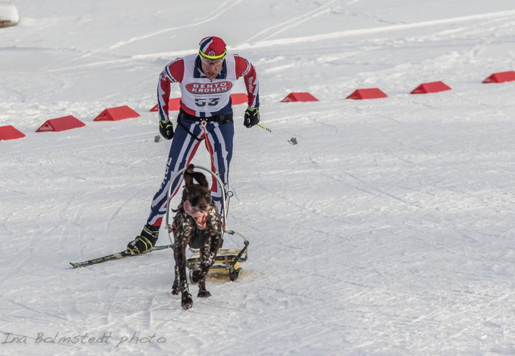 Eskil Knag fikk med seg to gull hjem fra NM 2017. Foto. Ina Blomstedt