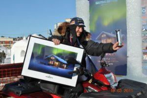 Roger Dahl vant både Kongepokal og Saltdalshytta i 2011. Foto: Finnmarksløpet